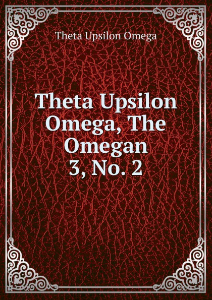 Theta Upsilon Omega Omega, The Omegan