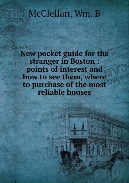 New pocket guide for the stranger in Boston