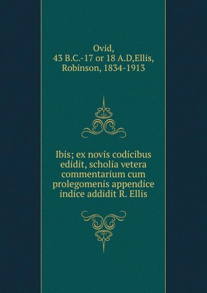 Publius Ovidius Naso Ibis цены