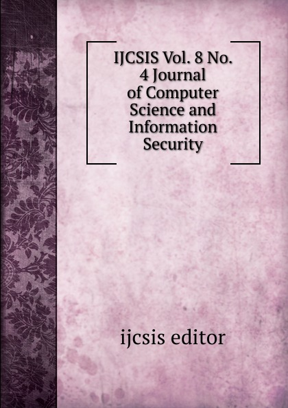 IJCSIS Vol. 8 No. 4 Journal of Computer Science and Information Security ghana departm university of cape coast journal of integrative humanism vol 5 no 1