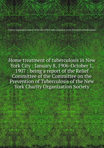 Home treatment of tuberculosis in New York City