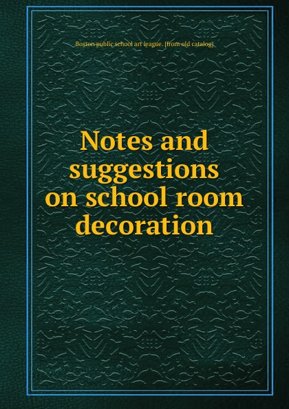 Boston public school art league Notes and suggestions on school room decoration small fresh and simple girl room dreamcatcher hanging decoration