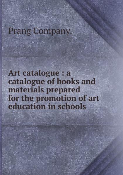 Prang Art catalogue