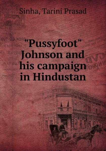 Tarini Prasad Sinha Pussyfoot Johnson and his campaign in Hindustan все цены
