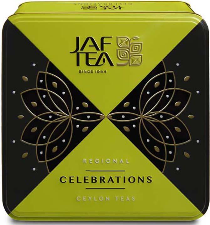 Набор черного чая Jaf Tea Celebrаtions, 2 упаковки х 40 г чай листовой good tea автор набор 4 190 г 10 фильтр пакетов и мерная ложка