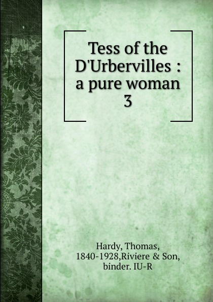 Hardy Thomas Tess of the D.Urbervilles hardy t tess of the d urbervilles книга на английском языке