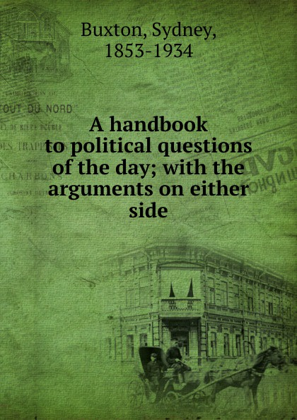 Sydney Buxton A handbook to political questions of the day hubert razik handbook of asynchronous machines with variable speed isbn 9781118600863