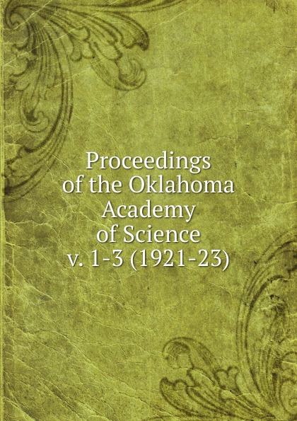 Oklahoma Academy of Science Proceedings of the Oklahoma Academy of Science university of oklahoma sooners stop sign ncaa