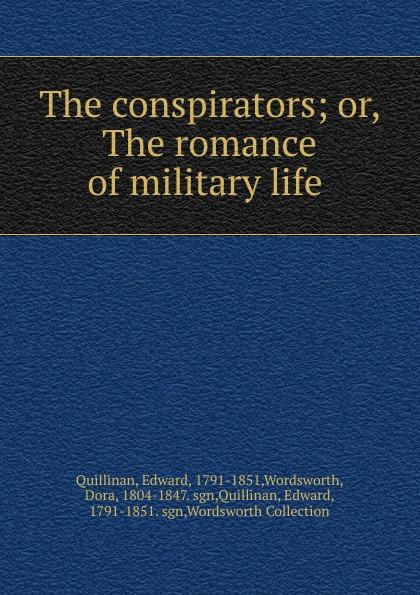 цены на Edward Quillinan The conspirators  в интернет-магазинах