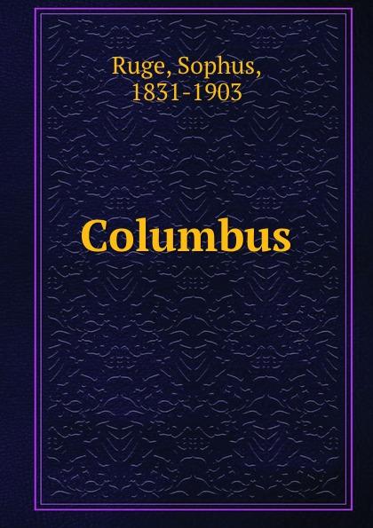 Sophus Ruge Columbus