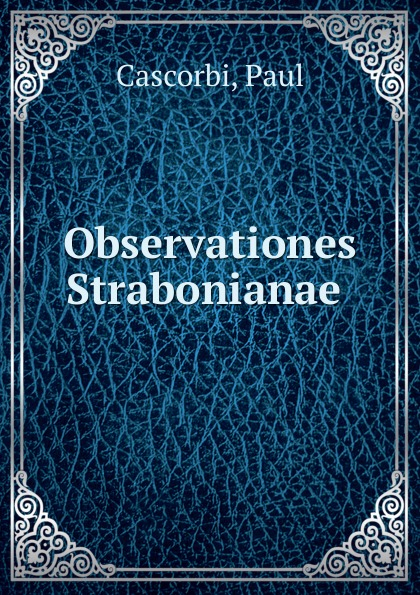 Observationes Strabonianae