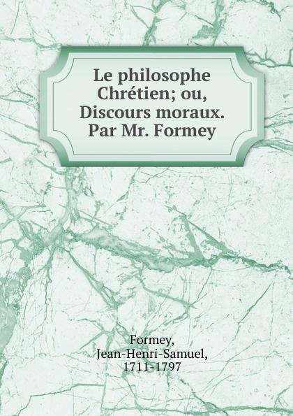 Фото - Jean-Henri-Samuel Formey Le philosophe Chretien jean paul gaultier le male