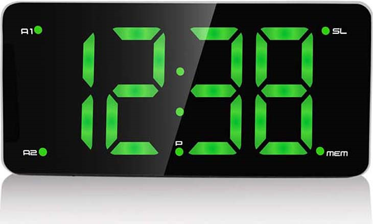 MAX CR-2910, Black Green радиобудильник max cr 2905g black green радиобудильник