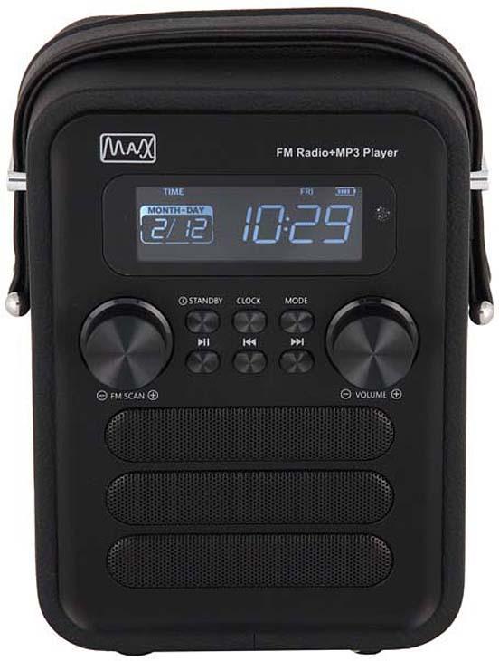 Радиоприемник MAX MR-340, Black