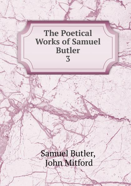 Samuel Butler The Poetical Works of Samuel Butler samuel butler the poetical works vol 2