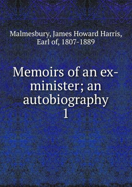 Memoirs of an ex-minister