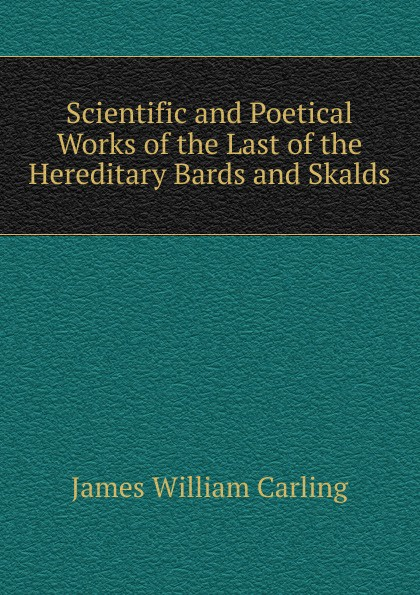 "Scientific and Poetical Works of the Last of the Hereditary Bards and Skalds Jones Stationery and Printing Company"", 1884 год) созданный..."