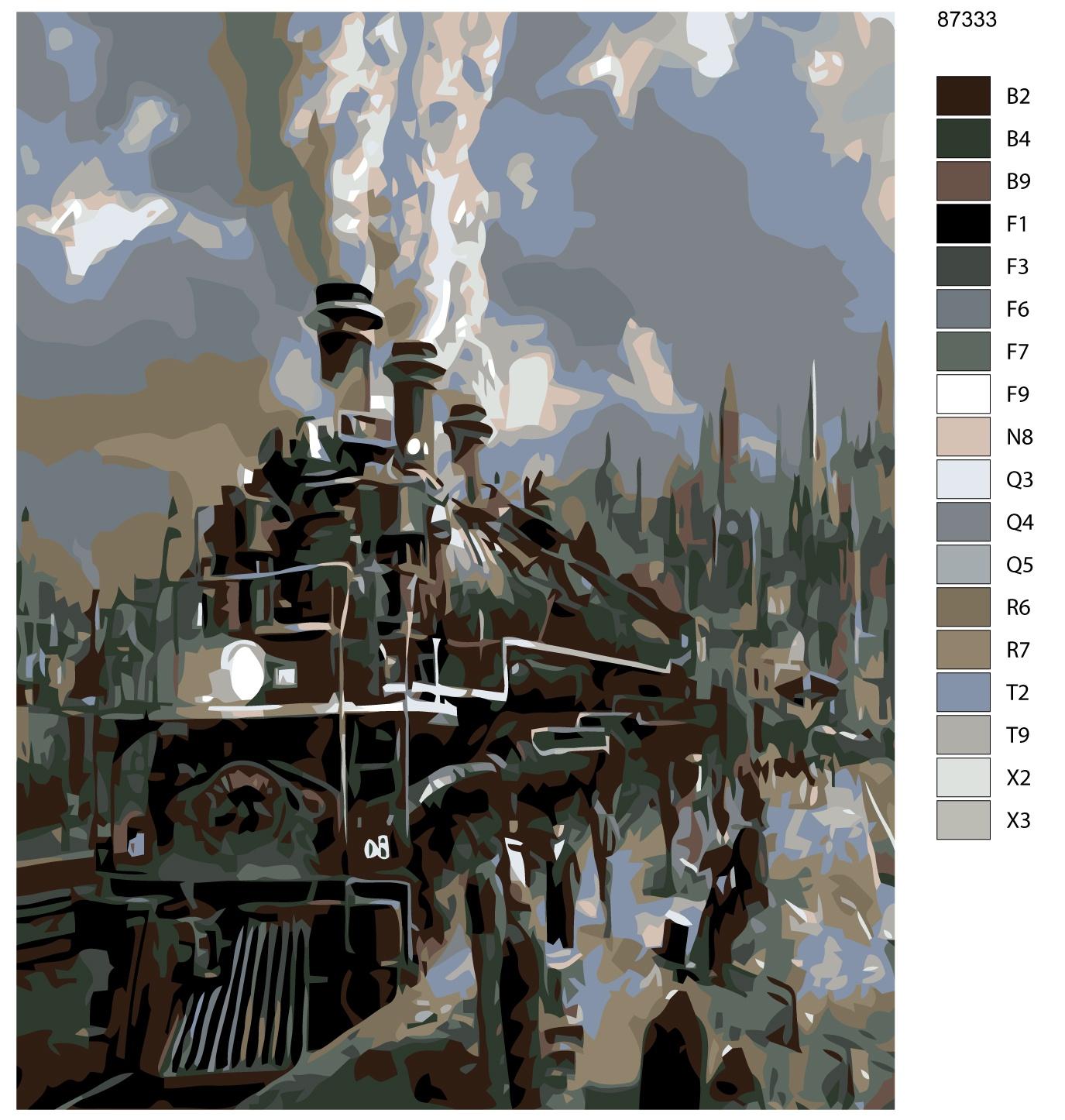 Набор для создания картины Живопись по номерам KTMK-87333KTMK-87333Количество красок от 18 до 24. Картина раскрашивается без смешивания красок. Высококачественные акриловые краски собственного производства сделают вашу картину яркой и уникальной. Все необходимые материалы есть в комплекте: натуральный хлопковый холст, натянутый на деревянный подрамник, баночки с акриловыми красками на водной основе, 3 кисти из качественного нейлона, схема раскрашивания, инструкция. Просто закрашивайте участки красками с соответствующим номером.