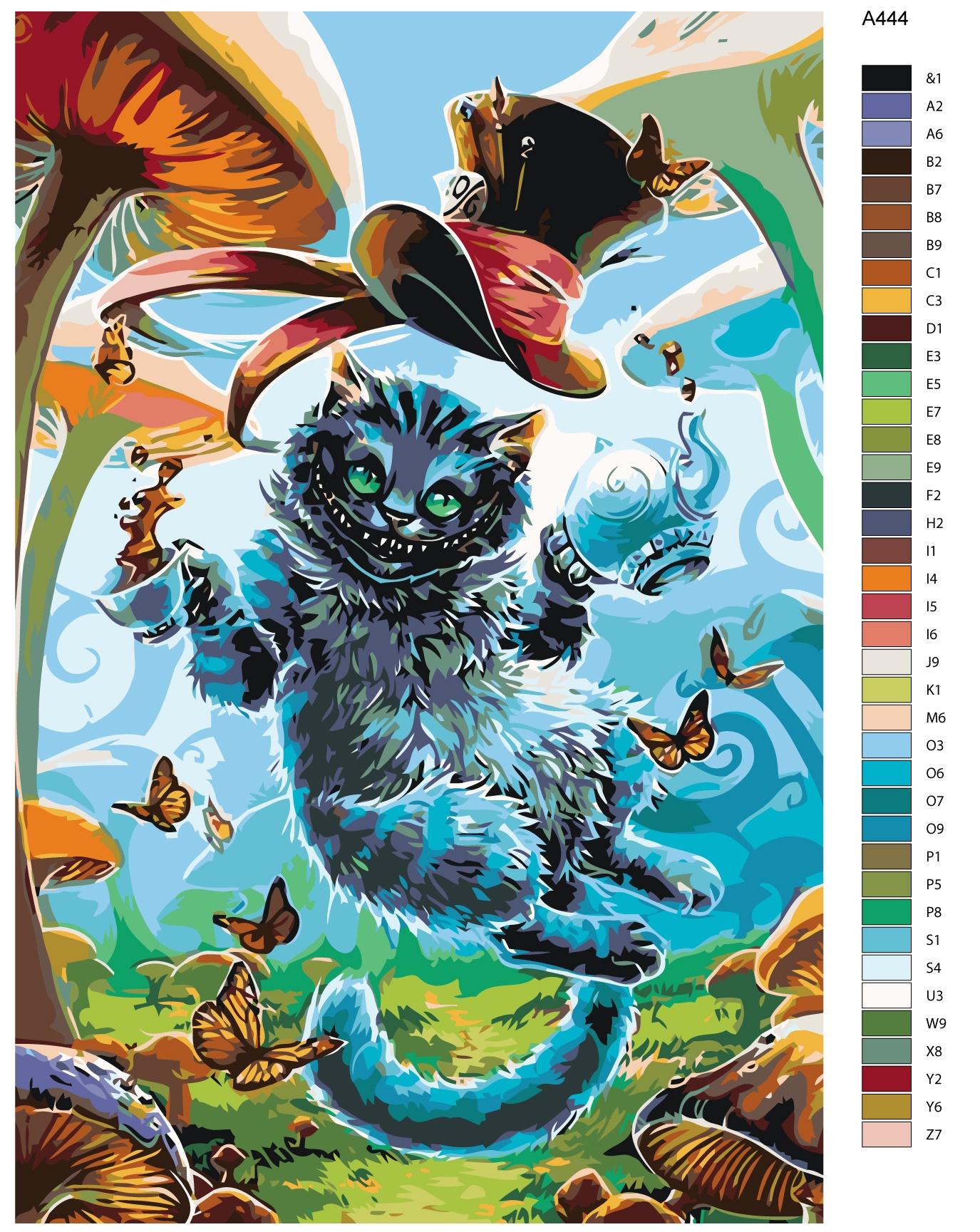 Набор для создания картины Живопись по номерам A444A444Количество красок от 18 до 24. Картина раскрашивается без смешивания красок. Высококачественные акриловые краски собственного производства сделают вашу картину яркой и уникальной. Все необходимые материалы есть в комплекте: натуральный хлопковый холст, натянутый на деревянный подрамник, баночки с акриловыми красками на водной основе, 3 кисти из качественного нейлона, схема раскрашивания, инструкция. Просто закрашивайте участки красками с соответствующим номером.