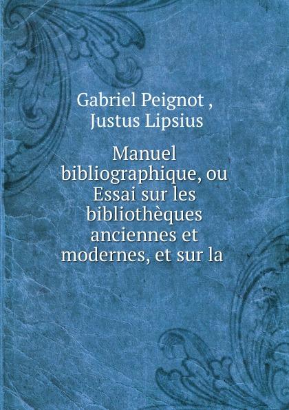 Gabriel Peignot Manuel bibliographique, ou Essai sur les bibliotheques anciennes et modernes, et sur la b godard suite de danses anciennes et modernes op 103