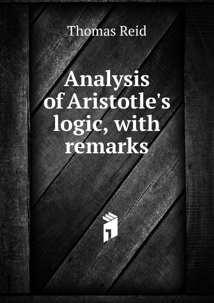 Thomas Reid Analysis of A logic