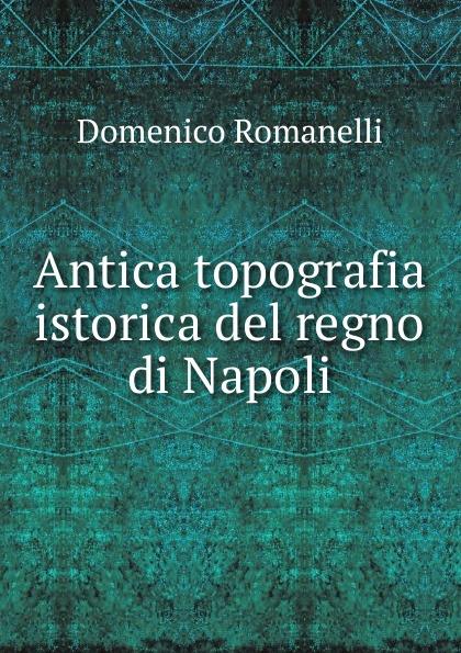 Domenico Romanelli Antica topografia istorica del regno di Napoli domenico romanelli antica topografia istorica del regno di napoli volume 3 italian edition