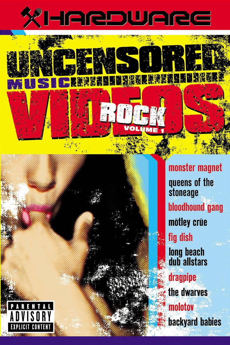Various Artists. Hardware - Uncensored Music Videos - Rock (DVD) various artist facedown fest 2004 2 dvd