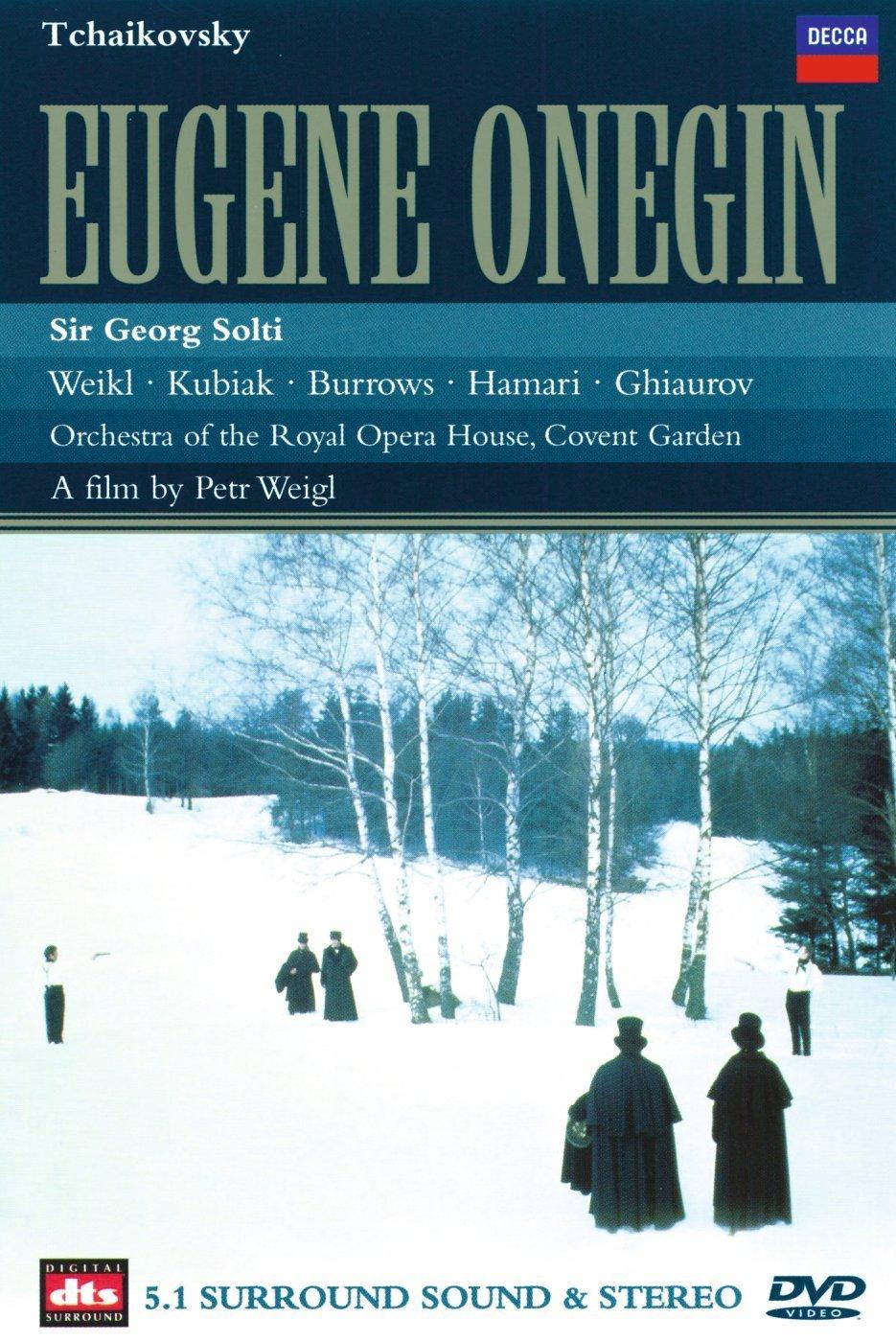 Sir Georg Solti. Tchaikovsky: Eugene Onegin (DVD) tchaikovsky valery gergiev eugene onegin blu ray