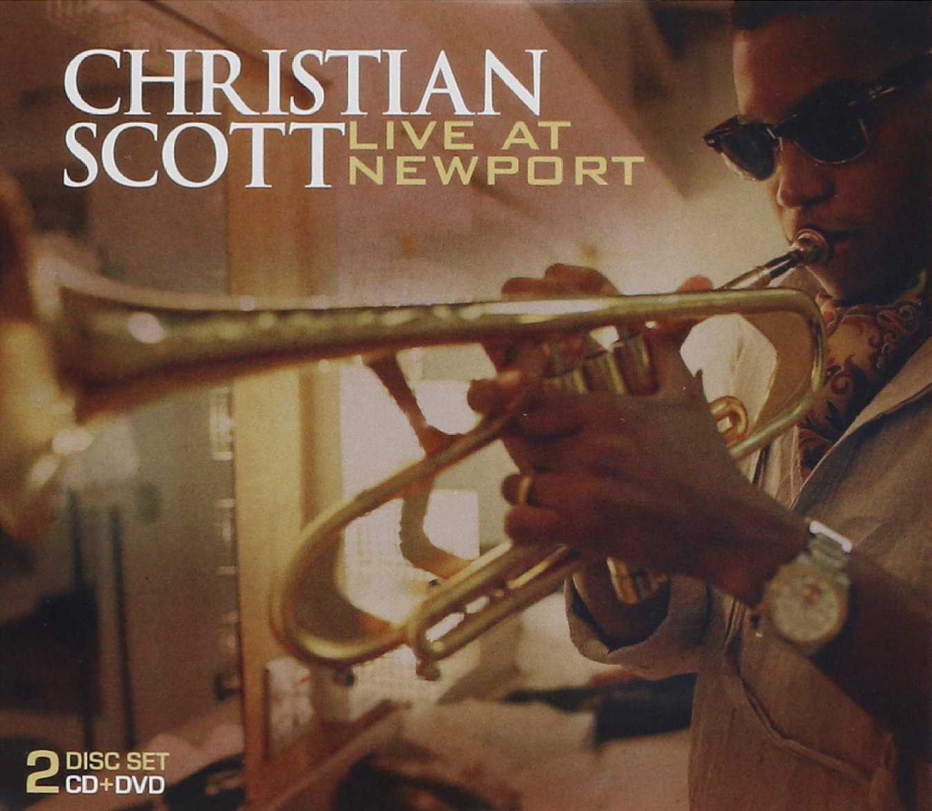 Christian Scott. Live At Newport (CD+DVD) zoolect zoolect embryolody live at alexey kozlov club deluxe numbered edition cd dvd