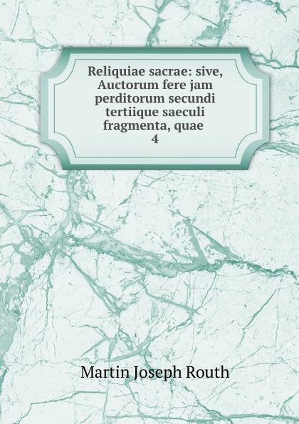 Reliquiae sacrae