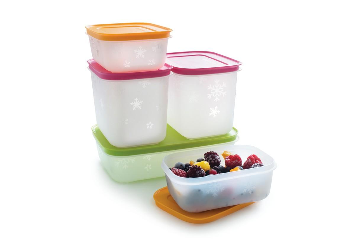 Набор емкостей Tupperware Е09, Пищевой полимер