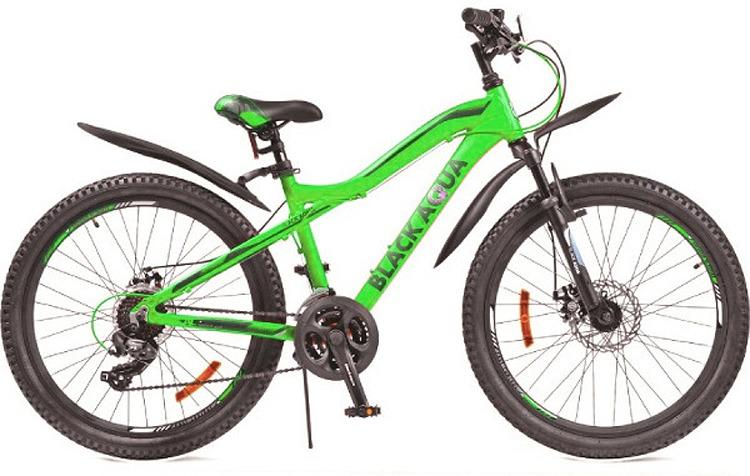 Велосипед Black Aqua Cross, GL-215D, колесо 24