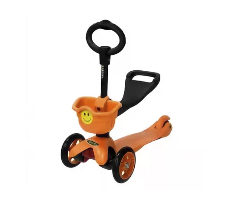 Самокат Smiley Mini, оранжевый цена 2017