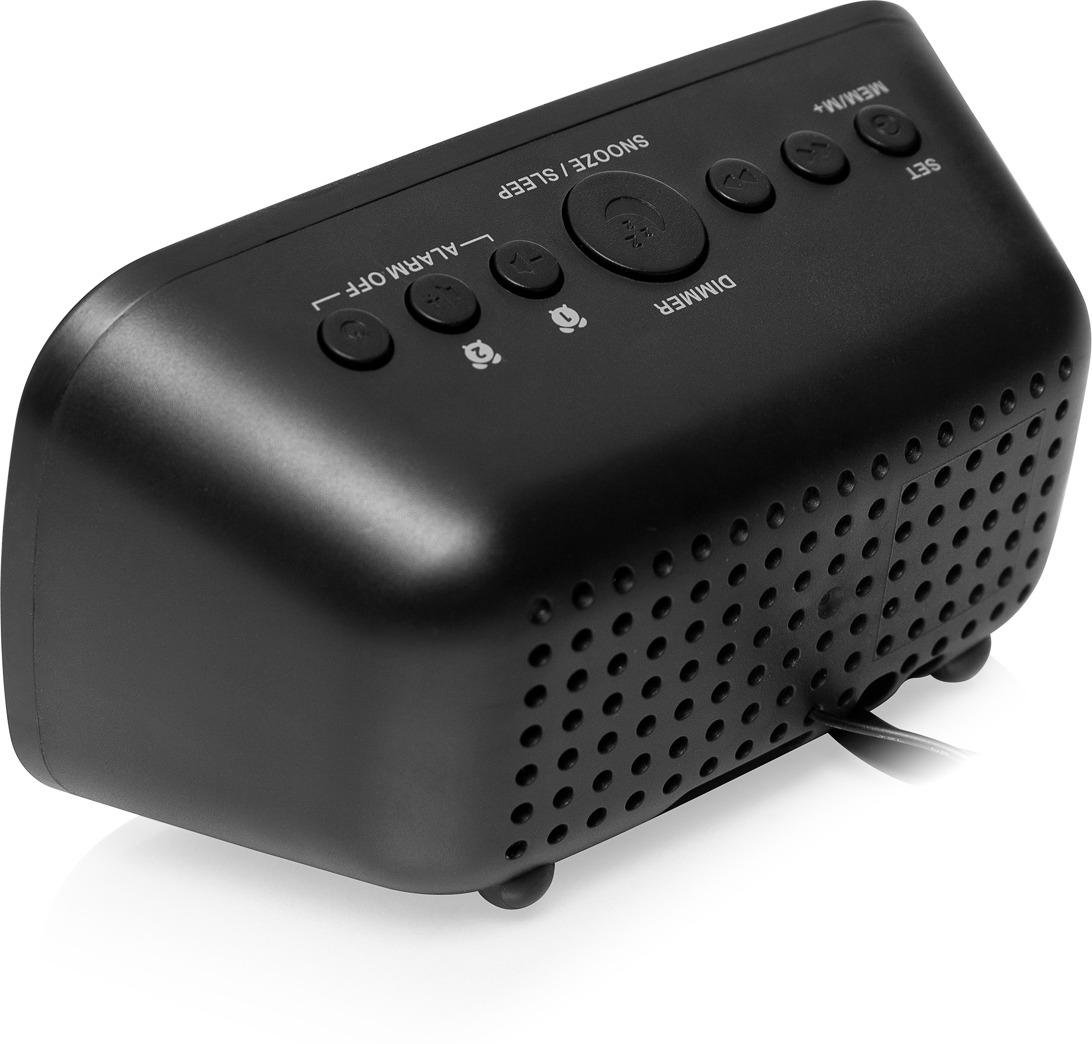 Радио-будильник First FA-2406-6, черный First