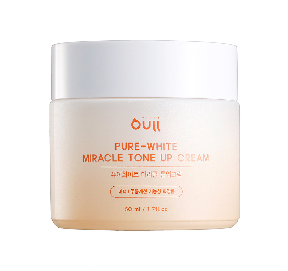 Крем для ухода за кожей Oull Корректирующий цвет кожи и выравнивающий тон кожи крем для лица на основе ниацинамида Pure-White Miracle Tone Up Cream