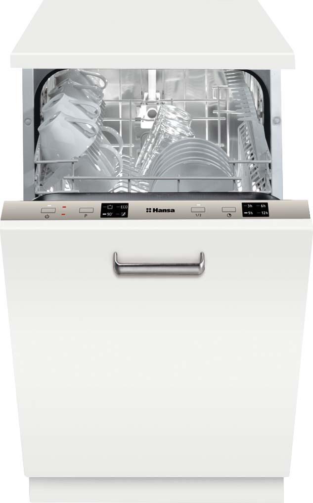 Фото - Посудомоечная машина Hansa ZIM414LH, встраиваемая, белый авто