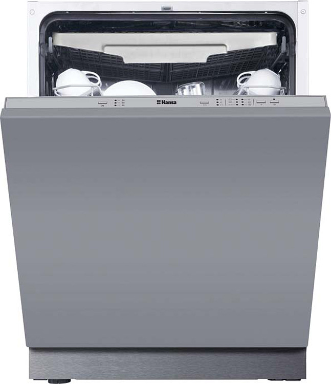 Посудомоечная машина Hansa ZIM6377EV, встраиваемая, белый