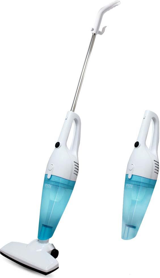 лучшая цена Вертикальный пылесос Ginzzu VS101, синий