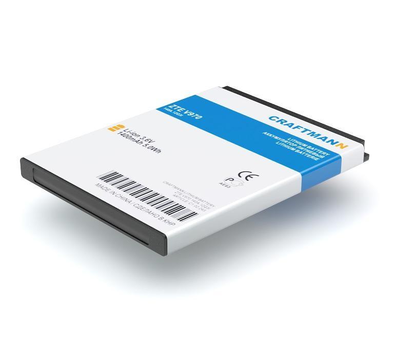 Аккумулятор для телефона Craftmann Li3716T42P3h594650 для ZTE V970, Beeline E700,U795,U930,U970,V807,Blade 3,N861,N880F,N881E,N970,T82,V887,V889M,V930,V956. аккумулятор для телефона craftmann li3716t42p3h594650 для zte v970 beeline e700 u795 u930 u970 v807 blade 3 n861 n880f n881e n970 t82 v887 v889m v930 v956