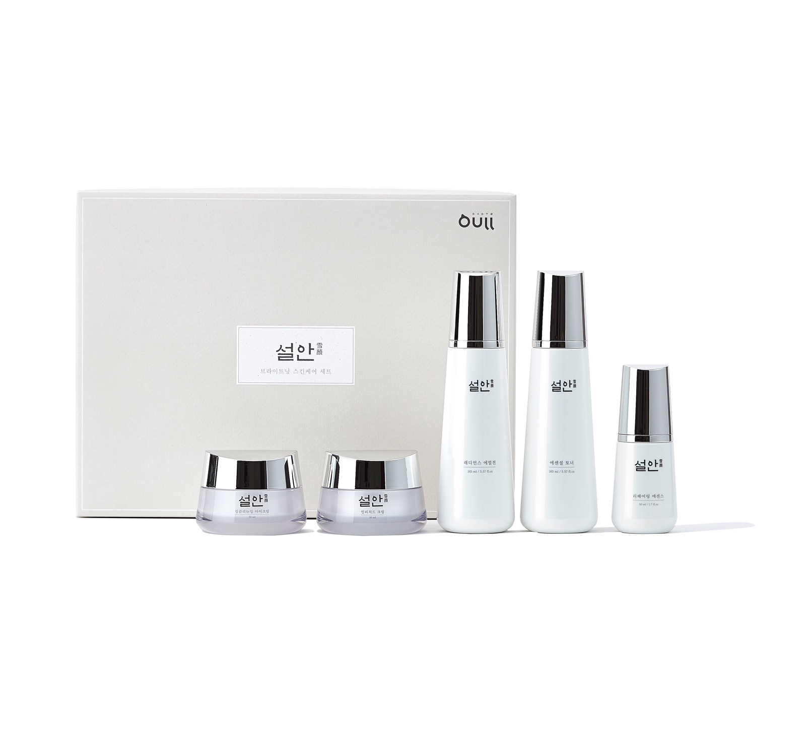 Набор косметики для ухода за кожей Oull Восстанавливающий молодость кожи набор по уходу за кожей лица Sulan Brightening Skin Care Set