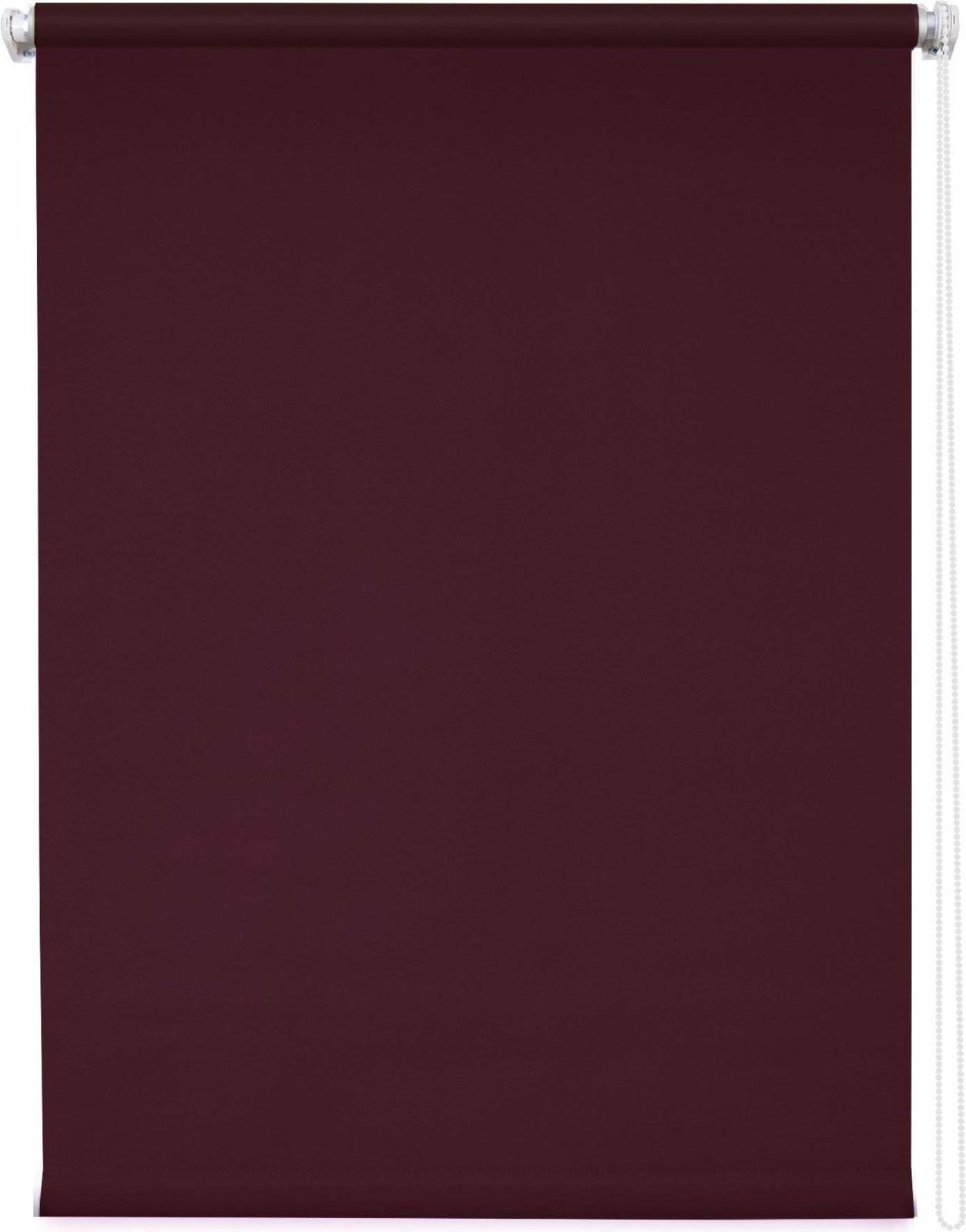 Штора рулонная Уют Плайн, бордовый, ширина 60 см, высота 175 см
