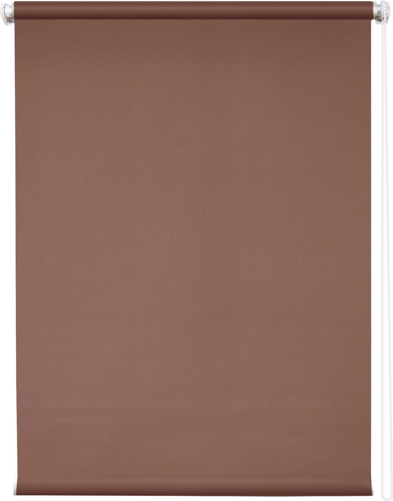 Штора рулонная Уют Плайн, коричневый, ширина 40 см, высота 175 см62.РШТО.7556.040х175Штора рулонная Уют выполнена из прочного полиэстера с обработкой специальным составом, отталкивающим пыль. Ткань не выцветает, обладает отличной цветоустойчивостью и светонепроницаемостью. Штора закрывает не весь оконный проем, а непосредственно само стекло и может фиксироваться в любом положении. Она быстро убирается и надежно защищает от посторонних взглядов. Компактность помогает сэкономить пространство. Универсальная конструкция позволяет крепить штору на раму без сверления, также можно монтировать на стену, потолок, створки, в проем, ниши, на деревянные или пластиковые рамы. В комплект входят регулируемые установочные кронштейны и набор для боковой фиксации шторы. Возможна установка с управлением цепочкой как справа, так и слева. Изделие при желании можно самостоятельно уменьшить. Такая штора станет прекрасным элементом декора окна и гармонично впишется в интерьер любого помещения.