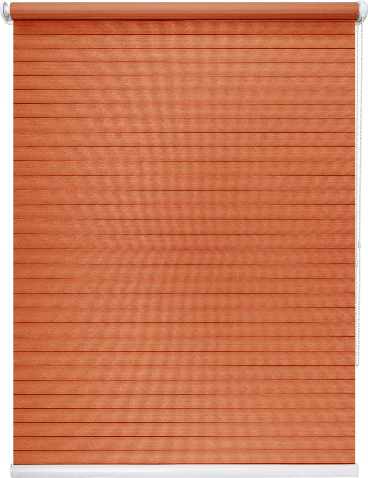 Штора рулонная Уют Кутюр, оранжевый, ширина 70 см, высота 175 см62.РШТО.8296.070х175Штора рулонная Уют выполнена из прочного полиэстера с обработкой специальным составом, отталкивающим пыль. Ткань не выцветает, обладает отличной цветоустойчивостью и светонепроницаемостью. Штора закрывает не весь оконный проем, а непосредственно само стекло и может фиксироваться в любом положении. Она быстро убирается и надежно защищает от посторонних взглядов. Компактность помогает сэкономить пространство. Универсальная конструкция позволяет крепить штору на раму без сверления, также можно монтировать на стену, потолок, створки, в проем, ниши, на деревянные или пластиковые рамы. В комплект входят регулируемые установочные кронштейны и набор для боковой фиксации шторы. Возможна установка с управлением цепочкой как справа, так и слева. Изделие при желании можно самостоятельно уменьшить. Такая штора станет прекрасным элементом декора окна и гармонично впишется в интерьер любого помещения.