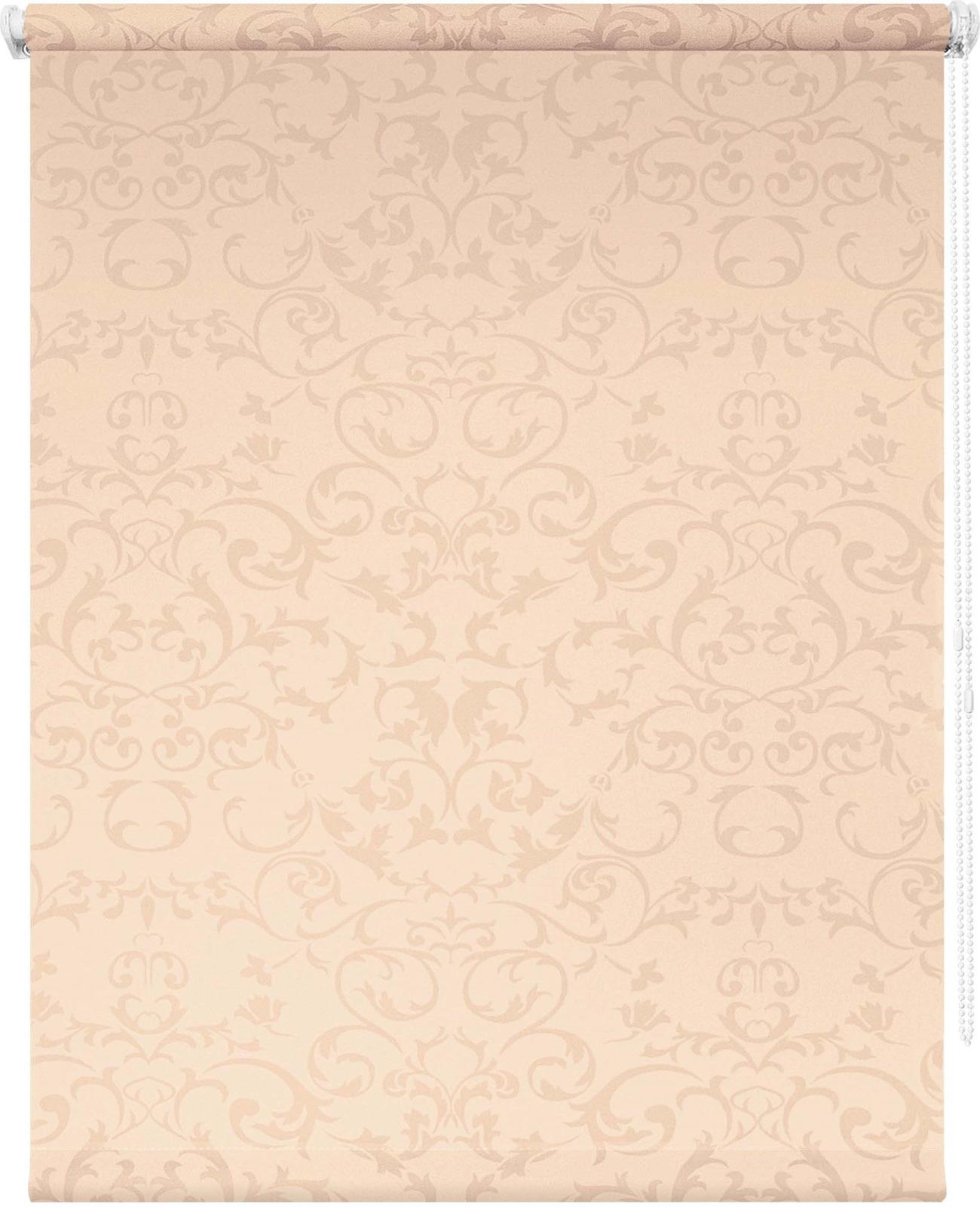 Штора рулонная Уют Дельфы, кремовый, ширина 90 см, высота 175 см62.РШТО.8352.090х175Штора рулонная Уют выполнена из прочного полиэстера с обработкой специальным составом, отталкивающим пыль. Ткань не выцветает, обладает отличной цветоустойчивостью и светонепроницаемостью. Штора закрывает не весь оконный проем, а непосредственно само стекло и может фиксироваться в любом положении. Она быстро убирается и надежно защищает от посторонних взглядов. Компактность помогает сэкономить пространство. Универсальная конструкция позволяет крепить штору на раму без сверления, также можно монтировать на стену, потолок, створки, в проем, ниши, на деревянные или пластиковые рамы. В комплект входят регулируемые установочные кронштейны и набор для боковой фиксации шторы. Возможна установка с управлением цепочкой как справа, так и слева. Изделие при желании можно самостоятельно уменьшить. Такая штора станет прекрасным элементом декора окна и гармонично впишется в интерьер любого помещения.