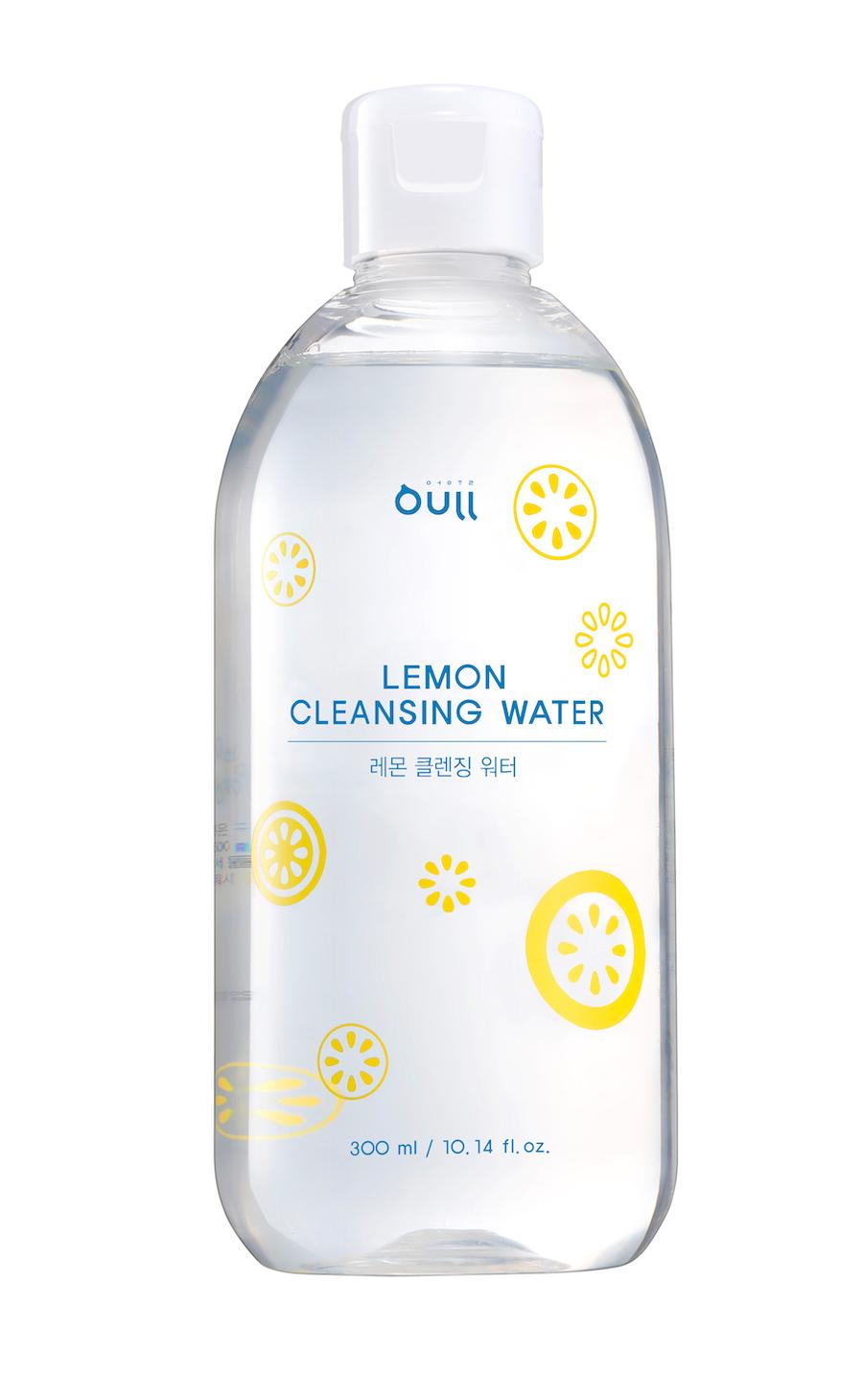 Вода мицеллярная Oull Лимонная очищающая(мицеллярная) вода для удаления макияжа и загрязнений с кожи лица Lemon Cleansing Water очищающая вода урьяж