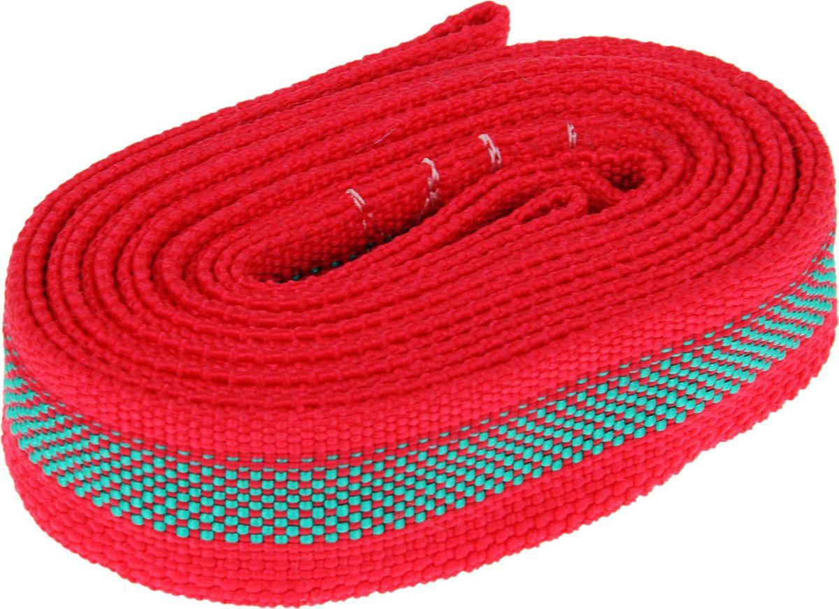 Трос буксировочный Torso Standart, 1226954, 2 петли, нагрузка 10 т, 4,5 м, цвет в ассортименте