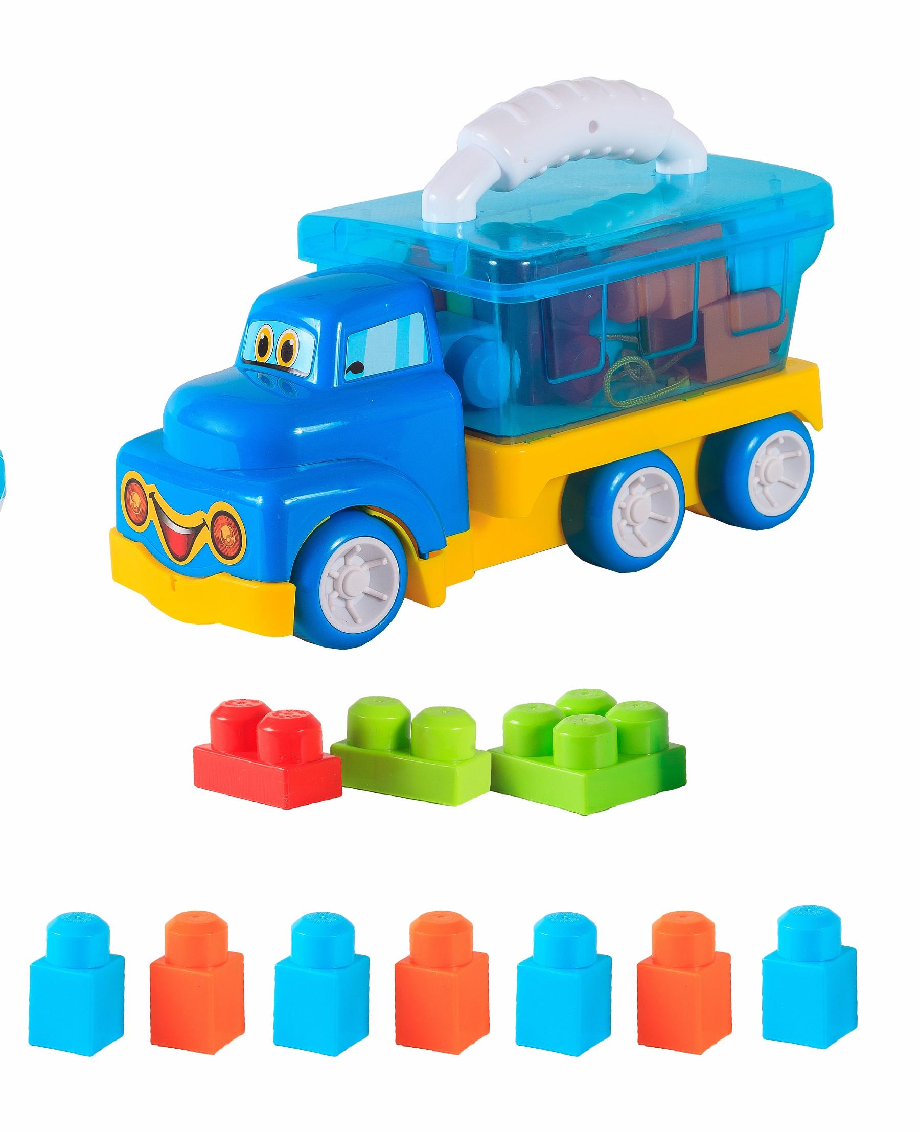 Машинка-игрушка S+S Машина-стройтехника с аксессуарами s s toys 012 03 с фигурками и аксессуарами