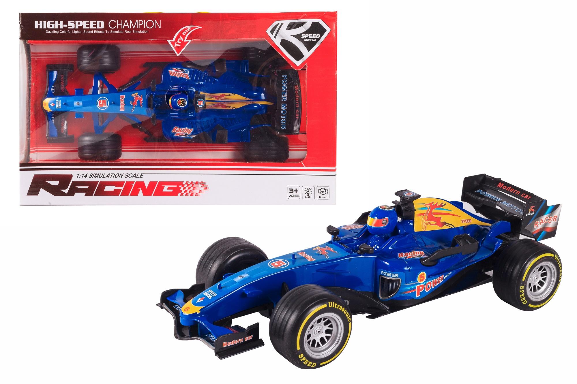 Машинка-игрушка S+S Инерция автомобиль на радиоуправлении s s toys 101036658 на батарейках белый