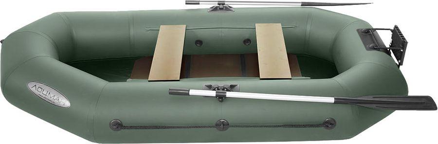 Лодка гребная Лоцман Профи, С 280 М ЖСП, надувная, зеленый
