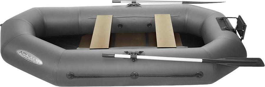 Лодка гребная Лоцман Профи, С 280 М ЖСП, надувная, серый